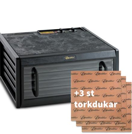 Excalibur 5-brickor transparent lucka + 3 torkdukar
