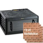 Excalibur 5-brickor, glasdörr + 3 torkdukar (Webbkurs ingår)